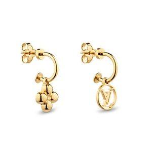 Louis Vuitton Blooming Earrings   BRAND New  